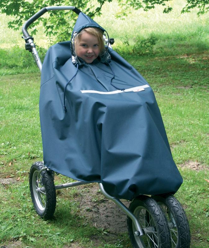 Детское пончо для инвалидов-колясочников