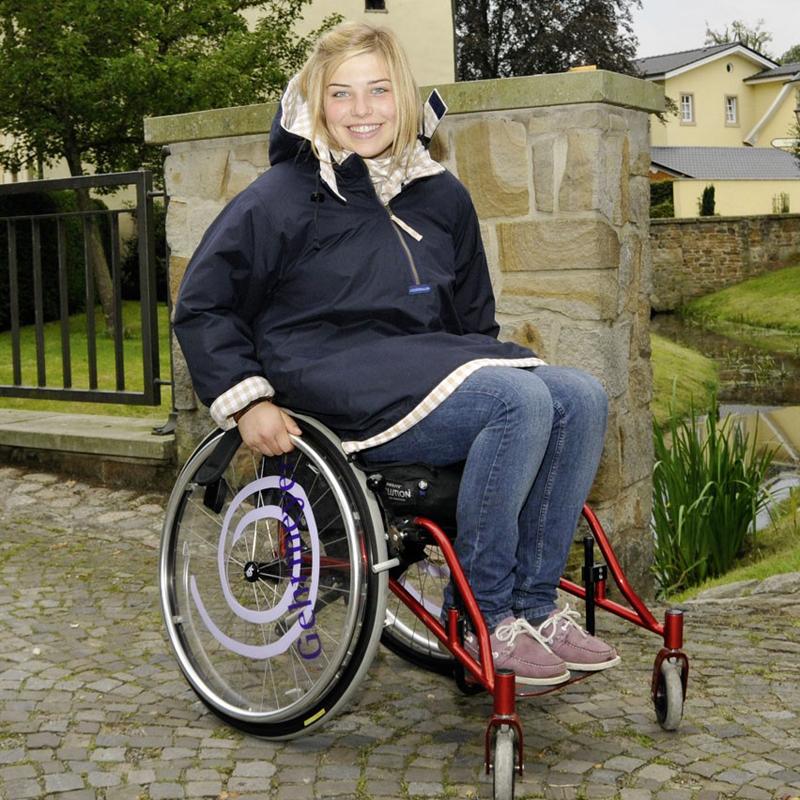 куртка для человека в инвалидной коляске