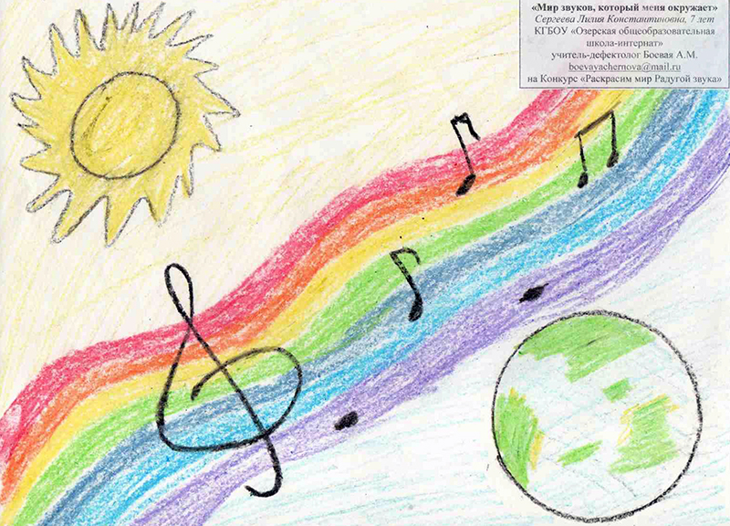 Картинки мир звуков