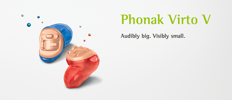 Внутриканальные слуховые аппараты Phonak Virto V