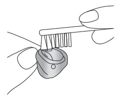 Уход за внутриушными слуховыми аппаратами